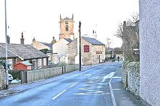 Kirk Smeaton - Image: Kirk Smeaton Village, Pinfold Lane geograph.org.uk 110707