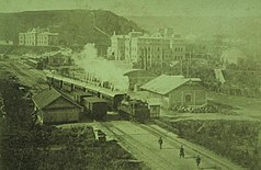 Kislovodsk railway station begin of XX.jpg