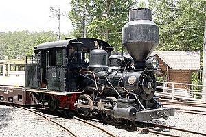 Kiso Forest Railway - Baldwin-Locomotive