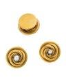 Knappar av guld med pärlor, 1800-tal - Hallwylska museet - 110562.tif