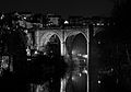 Knaresborough Bridge,Yorkshire, BW at night.jpg