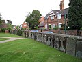 Knowle churchyard, Kenilworth Road boundary - geograph.org.uk - 1911075.jpg