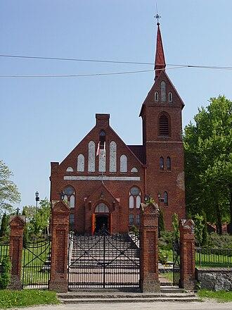 Leśniewo, Pomeranian Voivodeship - Catholic church