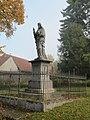 Kobeřice u Brna, socha Ježíše.jpg