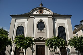 Königswinter - Front of St. Remigius (2009)