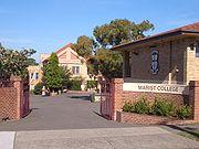 Colegio marista en Australia.