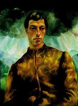 Korb, Erzsébet - Portrait of a Man (József Pécsi, ca 1923)
