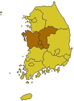 Hoseo - Image: Korea chungcheong