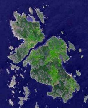 Koster Islands - Satellite photo of Koster Islands.