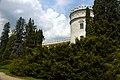 Krasiczyn. Widok na zamek od strony ogrodów. - panoramio.jpg