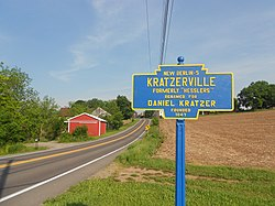 Kratzerville PA Keystone Sign 1.jpg