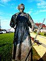Krzeszów, pomnik cystersa - Ora et Labora - PA260468.jpg