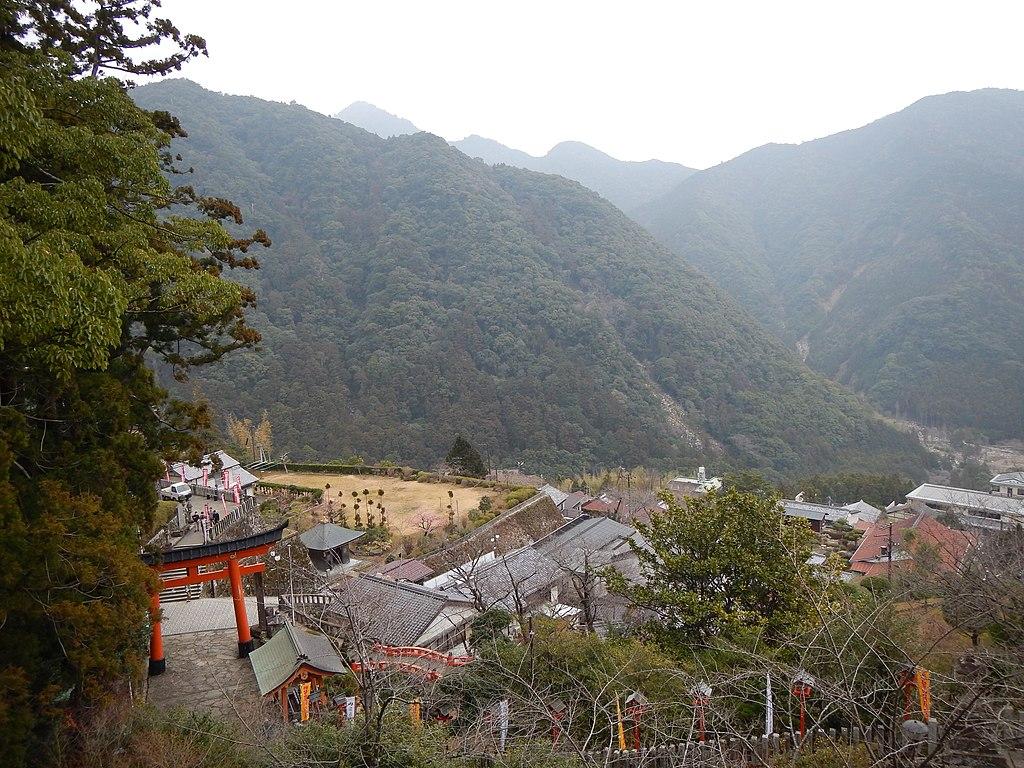 Kumano Kodo pilgrimage route Kumano Nachi Taisha World heritage 熊野古道 熊野那智大社15