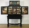 Kunstkast, beschilderd met mythologische voorstellingen Rijksmuseum Amsterdam BK-NM-11906-1.jpg