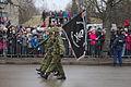 Kuperjanovi jalaväepataljoni lippurid Iseseisvuspäeva paraadil, 2015.jpg