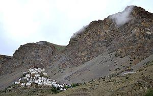 Key Monastery - Image: Kye Gompa