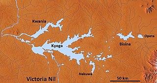 lake in Uganda