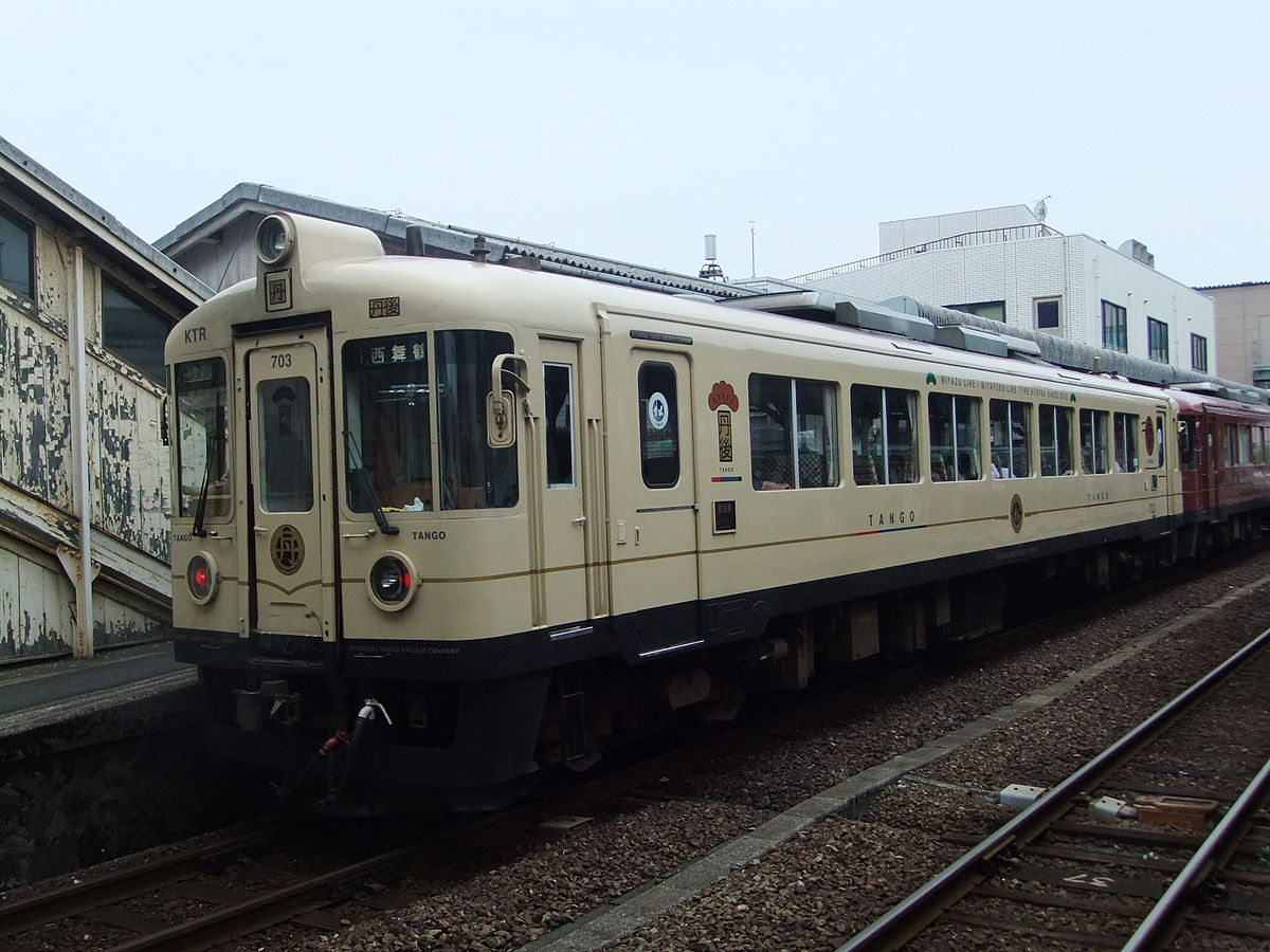 Kyoto Tango Railway 703 Commuter Train 20150829.JPG