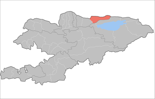 Kemin District Raion in Chuy Region, Kyrgyzstan