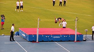 Athletics at the 2009 Mediterranean Games - Cypriot Kyriakos Ioannou broke the high jump record.