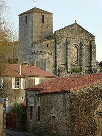 L'église de La Chaize-le-Vicomte..JPG