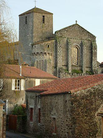 Aimery IV of Thouars - L'église de St. Nicolas, La Chaize