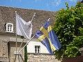 L'Hotel de Beaune - Rue Samuel Legay, Beaune - Swedish flag (35698448625).jpg