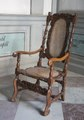 Länstol av rödbok - Skoklosters slott - 103754.tif