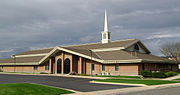 LDS stake center in West Valley City, Utah (cropped)