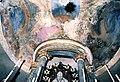La Cappelletta, 1983, prima dei restauri, la parte superiore dell'altare.jpg