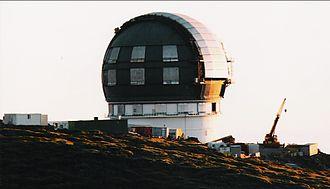 Gran Telescopio Canarias - Image: La Palma Gran Telescopio Canarias