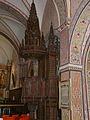 La Tour-d'Auvergne église St Pardoux chaire.JPG