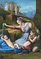La Vierge au voile, by Raffaello Sanzio, from C2RMF retouched.jpg