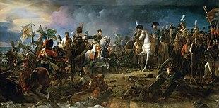 Napoleon in der Schlacht bei Austerlitz (Gemälde von François Pascal Simon Gérard) (Quelle: Wikimedia)