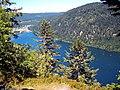 Lac de Longemer.(2). Vu de la roche des Vieux Chevaux. 16-07-2006.JPG