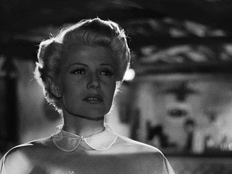 Film noir - Rita Hayworth in the trailer for The Lady from Shanghai (1947)