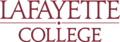 Lafayette College wordmark.png