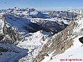 Lagazuoi 2778 m, Marmolada,3342 m, Sella Ronda 3190 m - panoramio.jpg