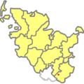 Lage des Sachsenwaldes in Schleswig-Holstein.png