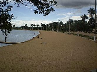 Lagoa da Prata - Image: Lagoa da Prata lagoa