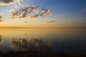 Lake Burgas - Image: Lake burgas dinev