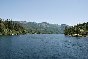 Lake Samish - Image: Lake Samish