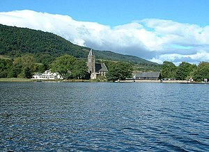 Blick auf Port of Menteith