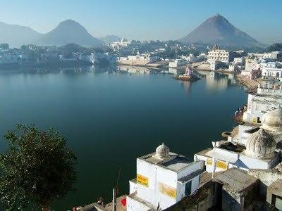 Lake of Pushkar Ajmer