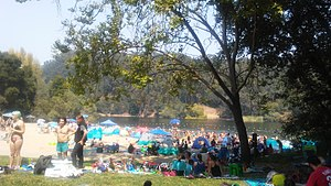 Lake Anza - Image: Lakeanza