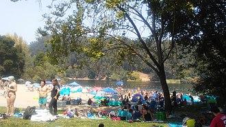 Lake Anza - Image: Lakeanza