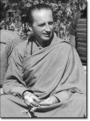 Anagarika Govinda - Image: Lama Govinda in an internment camp during World War II