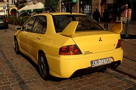 Mitsubishi Lancer Evolution Wikiwand