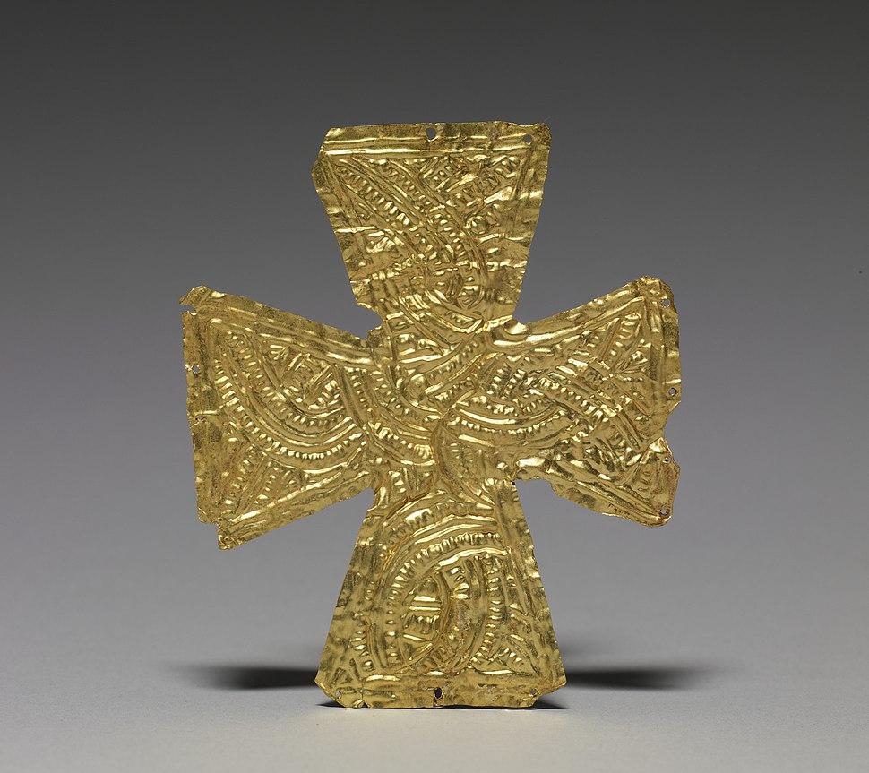 Langobardic - Shroud Cross - Walters 571773