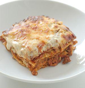 Lasagne - Baked lasagne